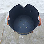 Очаг (печька) под казан, диаметр очага 33см, фото 5