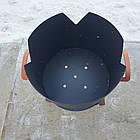 Вогнище (печька) під казан, діаметр вогнища 33см, фото 5