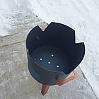 Очаг (печька) под казан, диаметр очага 33см, фото 3