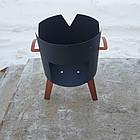 Очаг (печька) под казан, диаметр очага 33см, фото 2