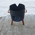 Вогнище (печька) під казан, діаметр вогнища 33см, фото 2