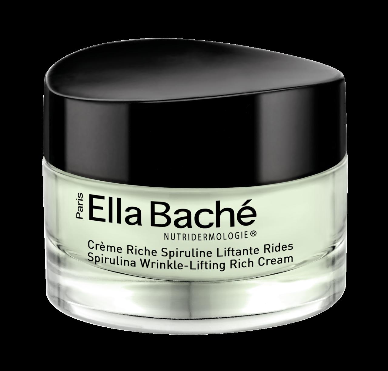 Ella Bache Spirulina Wrinkle-Lifting Rich Cream Спирулайн крем омолаживающий питательный 50 мл