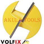 Пазова фасонна галтельна фреза з перехідною втулкою на 8мм VOLFIX FZ-120-240 d6, фото 8