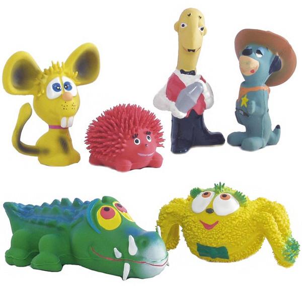 Pet Pro АСОРТІ ФИГУРКИ іграшка для собак, латекс