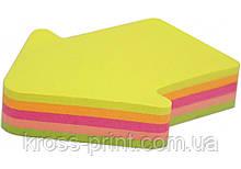 """Стикеры """"Стрела"""" Economix , 45х50, 4 цвета, 80 листов"""