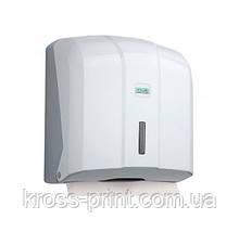 Держатель бумажных полотенец C, V складка, белый пластик