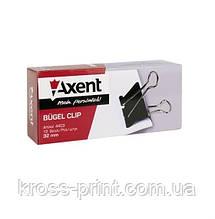Затискач для паперу 32мм Axent 4403 12/144/1440шт/уп