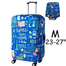 """Чехол для дорожного чемодана на чемодан защитный 19-22"""" M, Discover"""