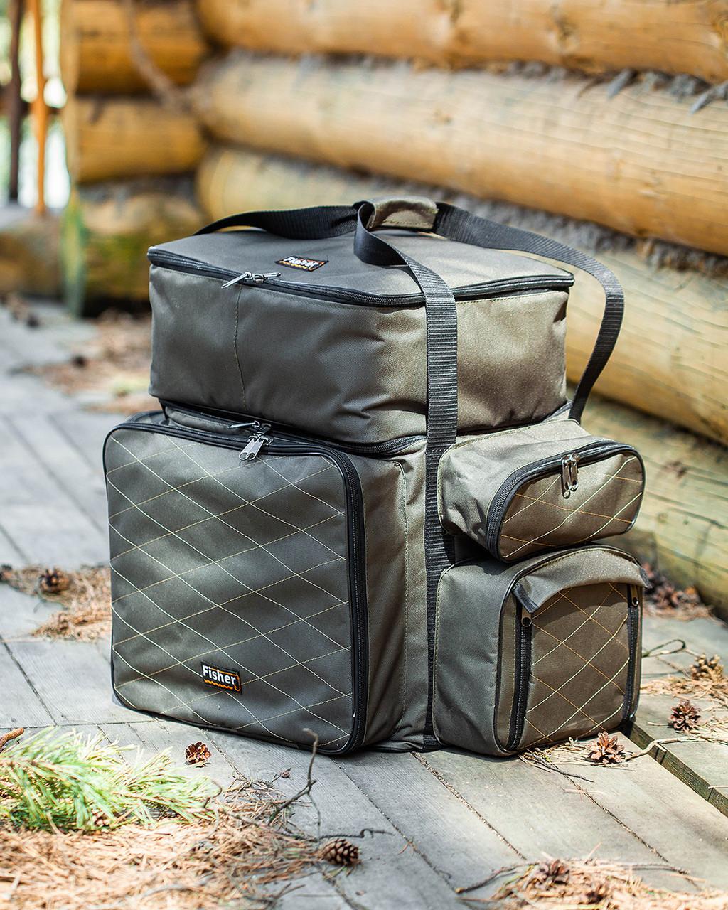 Коропова сумка, Сумка для риболовлі, Сумка універсальна коропова, Сумка Fisher
