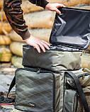 Коропова сумка, Сумка для риболовлі, Сумка універсальна коропова, Сумка Fisher, фото 2