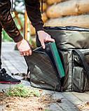 Коропова сумка, Сумка для риболовлі, Сумка універсальна коропова, Сумка Fisher, фото 3