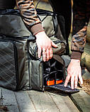 Коропова сумка, Сумка для риболовлі, Сумка універсальна коропова, Сумка Fisher, фото 4