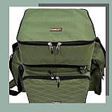 Коропова сумка, Сумка для риболовлі, Сумка універсальна коропова, Сумка Fisher, фото 5
