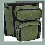 Коропова сумка, Сумка для риболовлі, Сумка універсальна коропова, Сумка Fisher, фото 6
