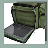 Коропова сумка, Сумка для риболовлі, Сумка універсальна коропова, Сумка Fisher, фото 7
