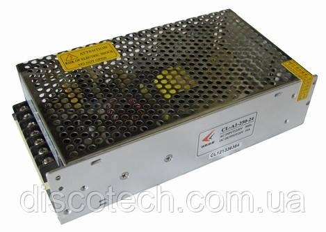 Блок живлення 24V/240W 10A IP20 CL-A1-250-24