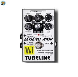 Педаль для электрогитары Tubeline Legend Amp Vh1 + PA2LA
