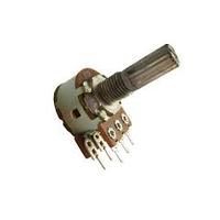 Stereo Rotating variable resistor