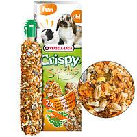 Versele-Laga Crispy Sticks Carrot&Parsley ВЕРСЕЛЕ-ЛАГА КРИСПИ МОРКОВЬ ПЕТРУШКА лакомство для кроликов, морских