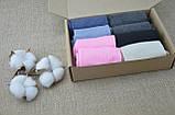 Комплект жіночих шкарпеток 8 пар, Набір жіночих шкарпеток mix, розмір 36-41, фото 3