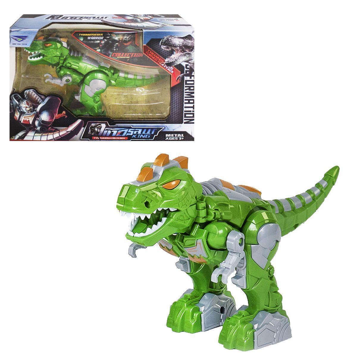 Трансформер Dinosaur King (зеленый)