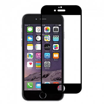 Защитное стекло MAKC Apple iPhone 6 Plus 5D black