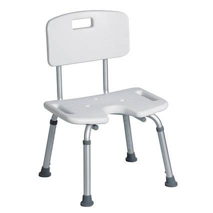 Крісло зі спинкою для ванної або душу AWD02331599