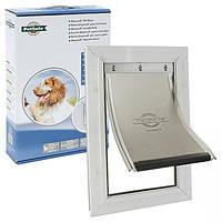 PetSafe Staywell Aluminium Medium ПЕТСЕЙФ СТЕЙВЕЛ АЛЮМИНИЙ дверца для собак средних пород, усиленная