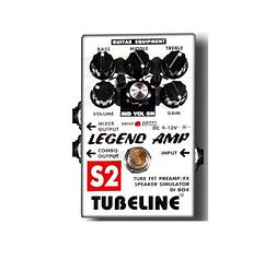 Педаль для электрогитары Tubeline Legend Amp S2 + PA2LA