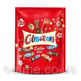 Celebrations Easter Mix Набор конфет с яйцами и шоколадными зайчиками 400g