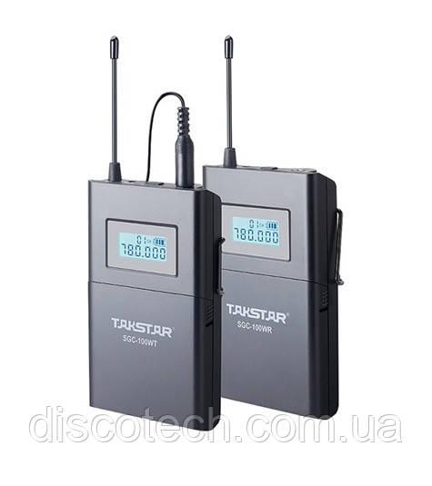 Беспроводная микрофонная система Takstar для видеозаписи SGC-100W