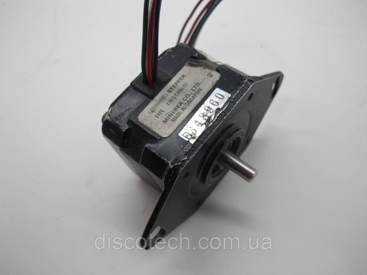 Двигатель шаговый уп 1,8 ф5,0/ 75 Ом 17PS-C0006-01