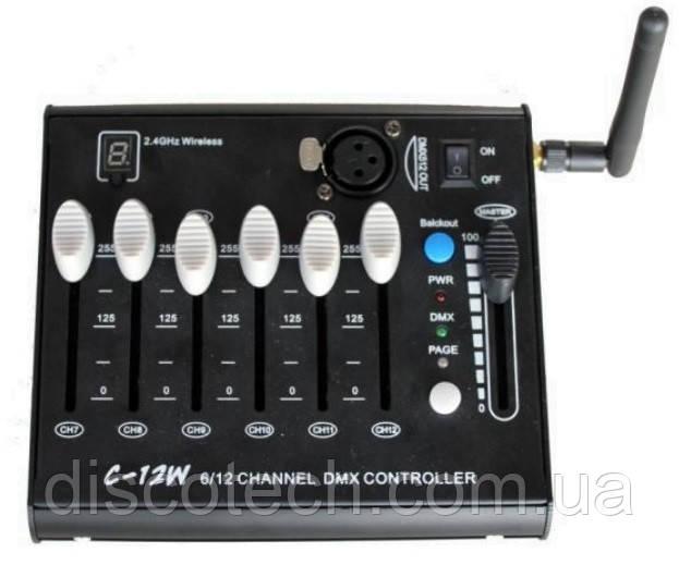 2.4 G Бездротовий DMX контролер C-12W