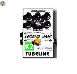Педаль для электрогитары Tubeline Legend Amp K2 + PA2LA