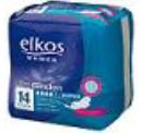 Женские прокладки четыре капли Elkos super+seide 14 шт