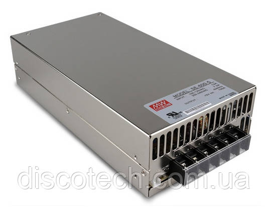 Блок питания  5V/600W 120A IP20 SE-600-5 MW