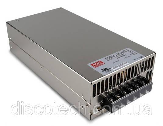 Блок живлення 5V/600W 120A IP20 SE-600-5 MW
