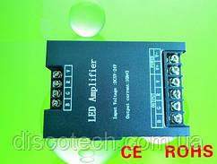 RGB Усилитель 10А/канал, RGB-SUB в железном корпусе