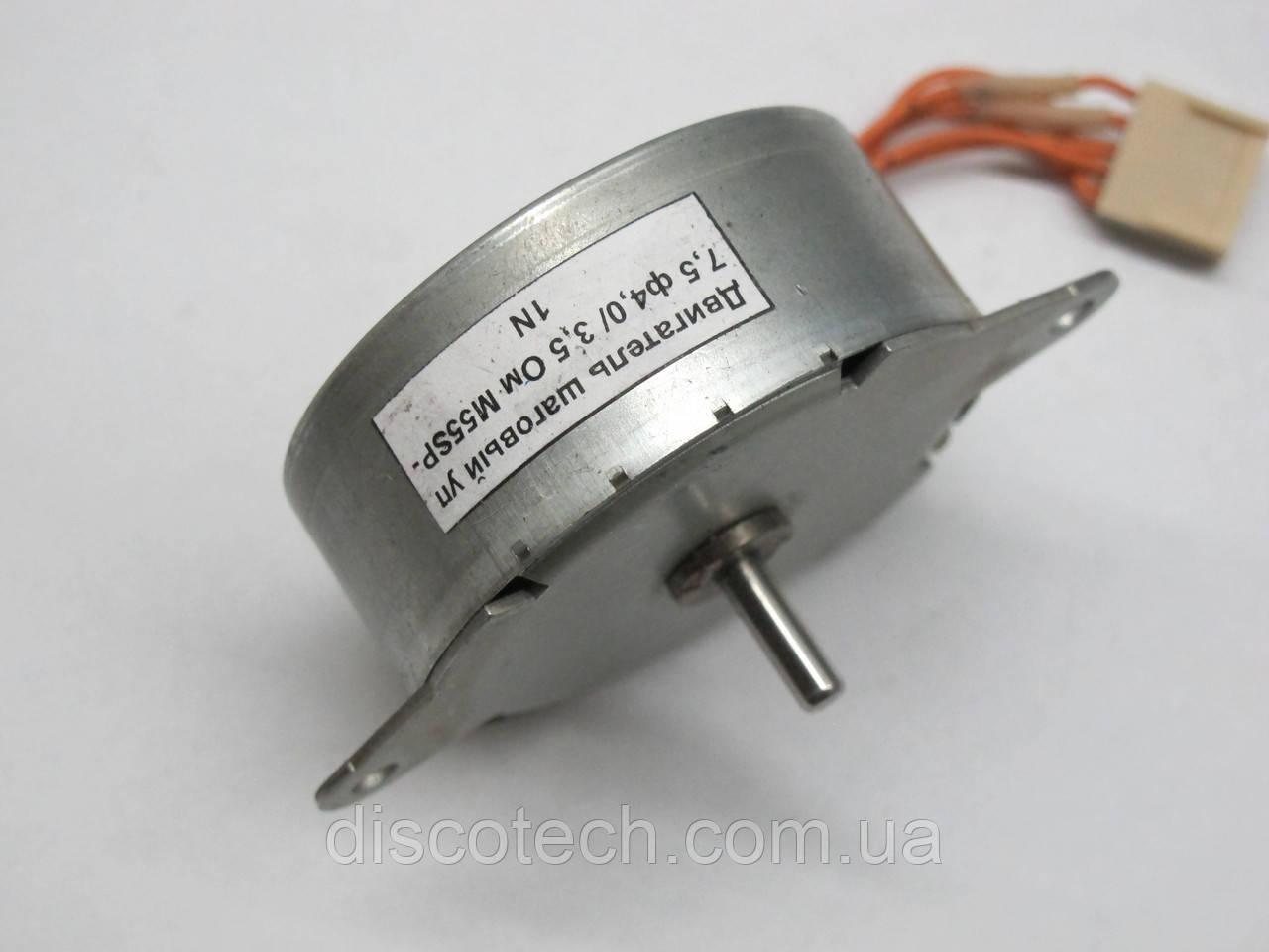 Двигатель шаговый уп 7,5 ф4,0/  3,5 Ом M55SP-1N