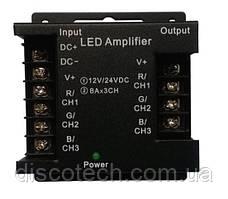 RGB Підсилювач 8А/канал AMF-HT в залізному корпусі