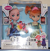 """Набор кукол в коробке: """"Милашки Frozen"""" Анна и Эльза из мультфильма """"Холодное сердце"""" Дисней."""