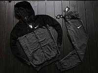Мужской Спортивный костюм Nike найк (штаны+кофта), весенний спортивный костюм, чоловічий спортивний костюм