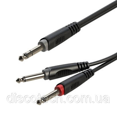 Готовий кабель Roxtone RAYC100L6, 2х1х0.14 кв. мм, вн. діаметр 4x8 мм, 6 м