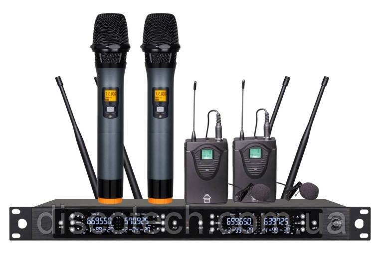 Бездротова мікрофонна система Emiter-S TA-U801HP