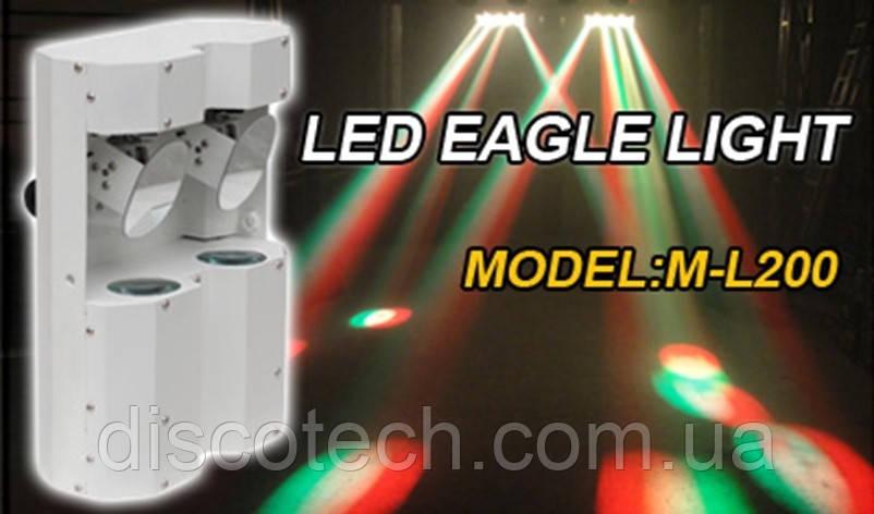 Сканер LED New Light M-L200 2 Mirror Beam Scan Light