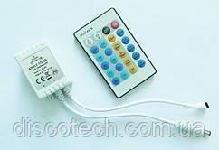 Одноцветный контроллер с пультом ДУ IR24-SC