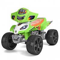 Детский квадроцикл BAMBI ZP5118E-5 Зелёный. Квадроцикл для детей. Электромобиль