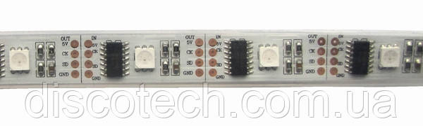 Светодиодная RGB пиксельная лента WL-5V32RGB2801-67