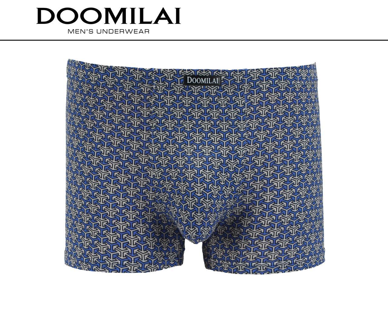 Чоловічі боксери стрейчеві з бамбука «DOOMILAI» Арт.D-01444