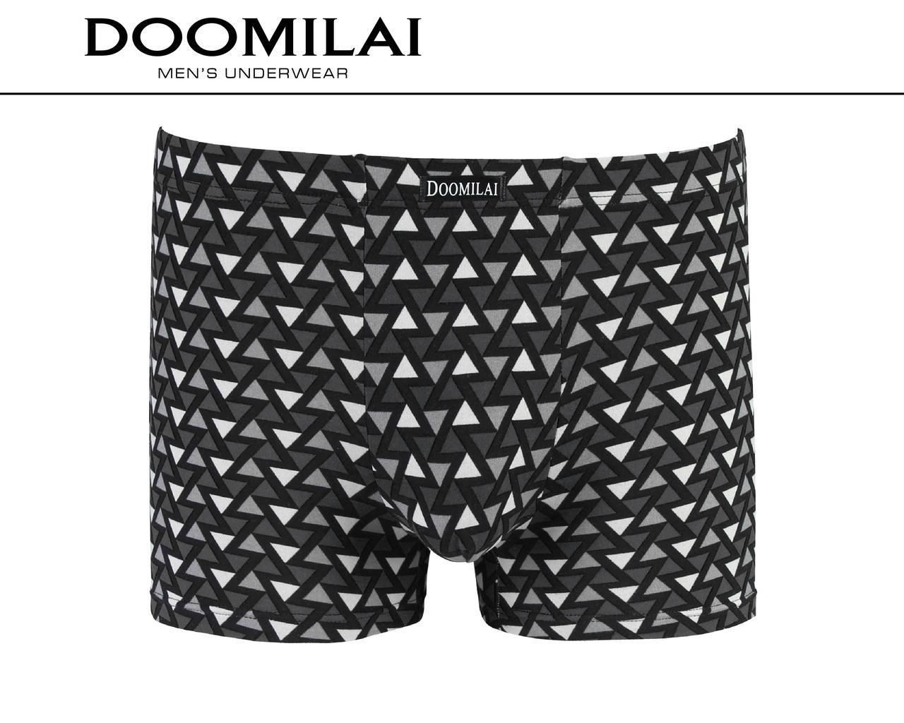 Чоловічі боксери стрейчеві з бамбука «DOOMILAI» Арт.D-01450